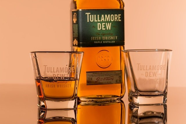 酒の匂いがプンプンするウイスキー