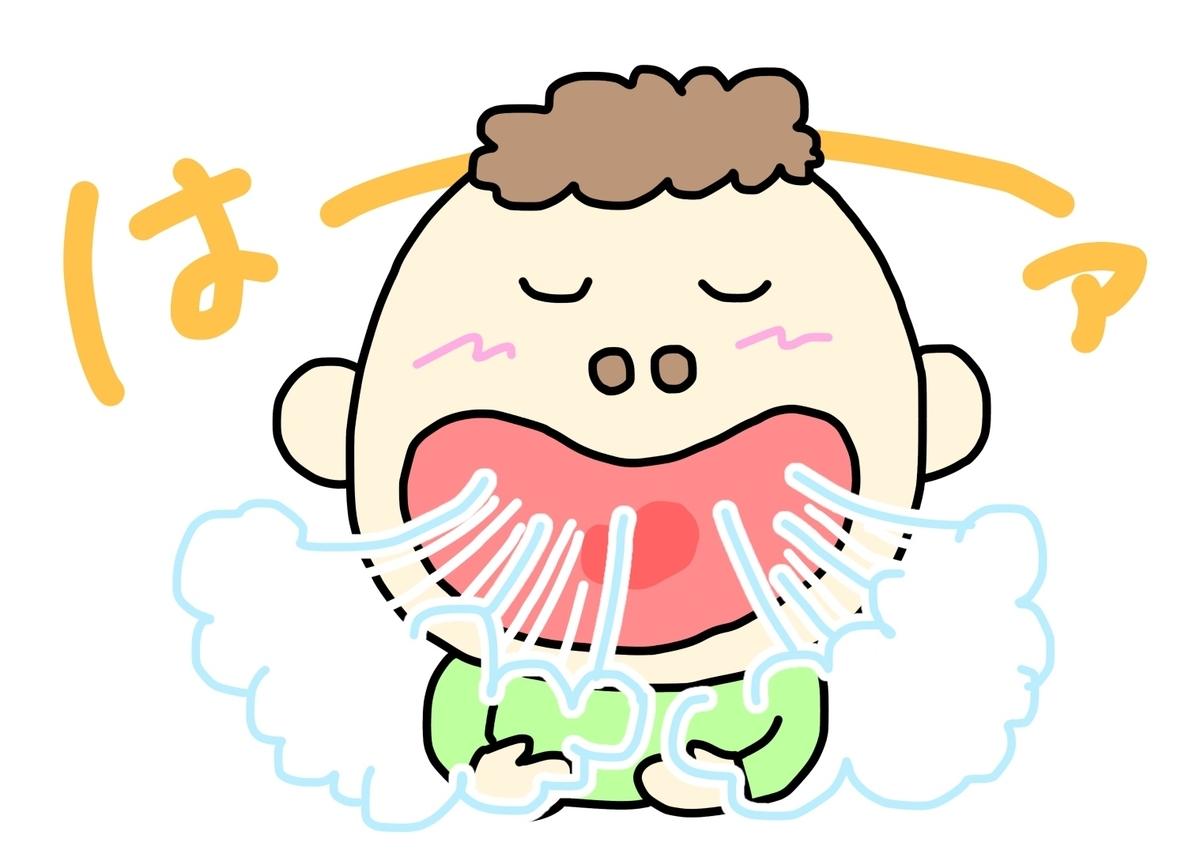 鼻呼吸 口呼吸
