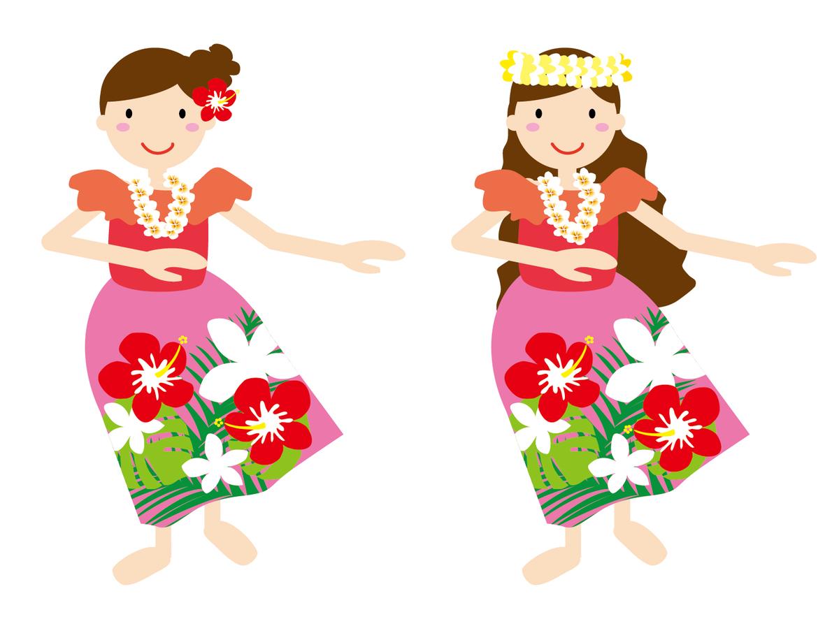 子供から大人まで楽しめるフラダンス