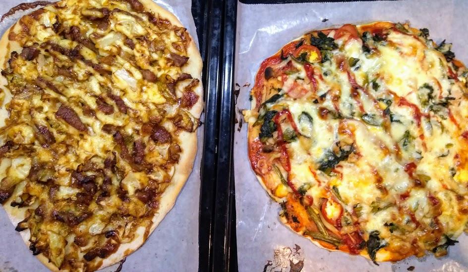 時短簡単ピザ