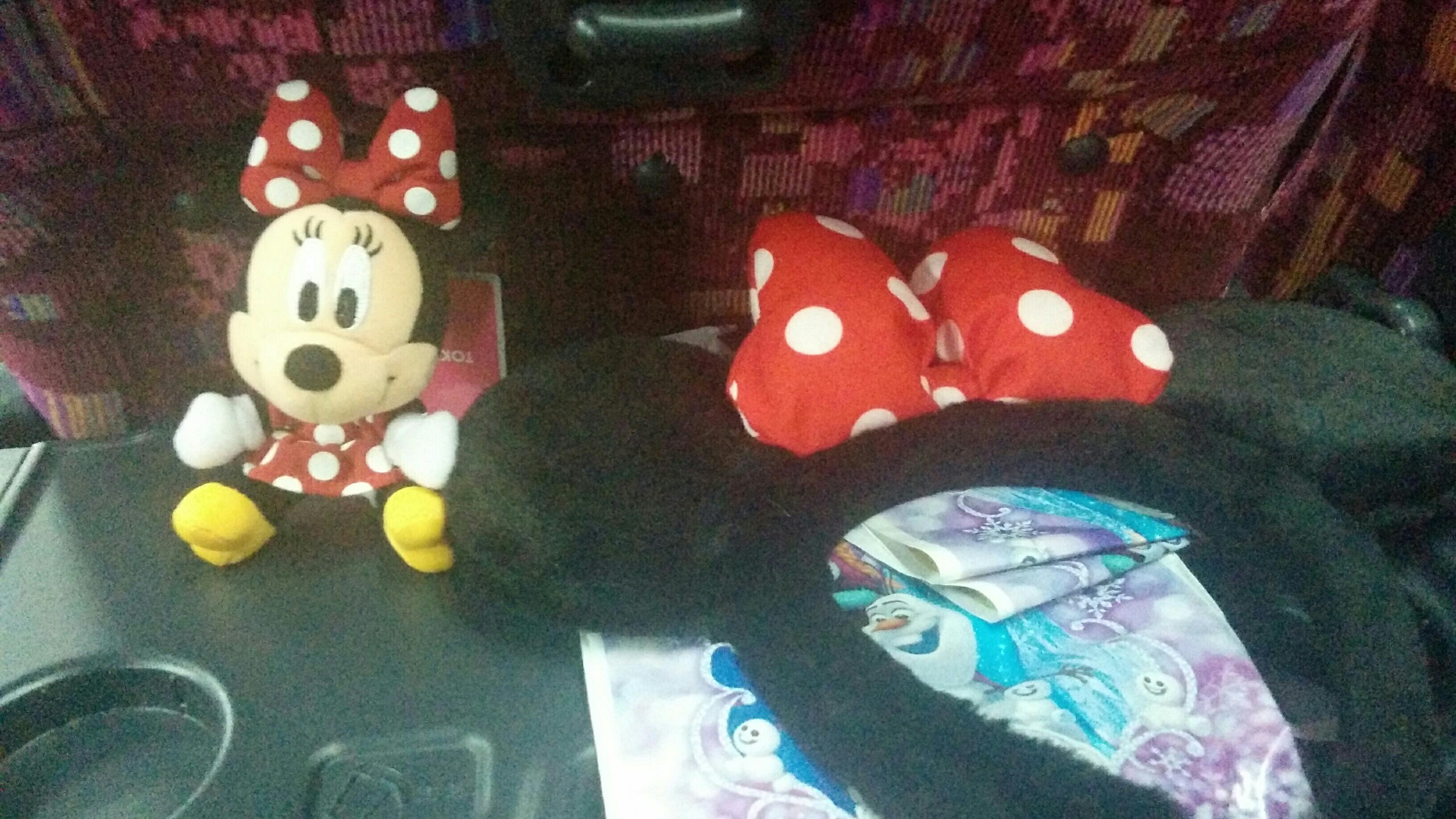 ミニー人形ストラップ&ミニーのカチューシャ