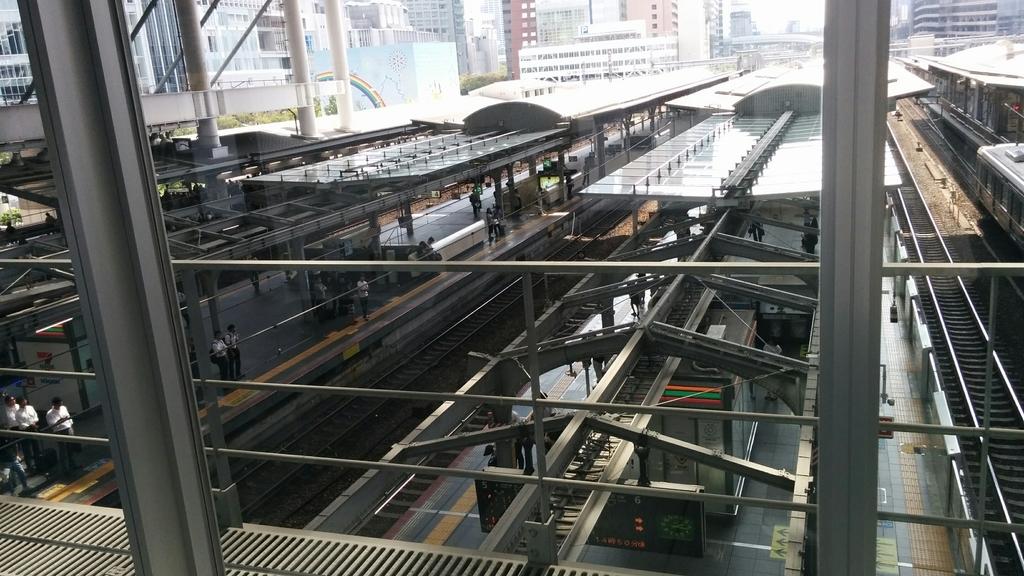 大阪駅線路