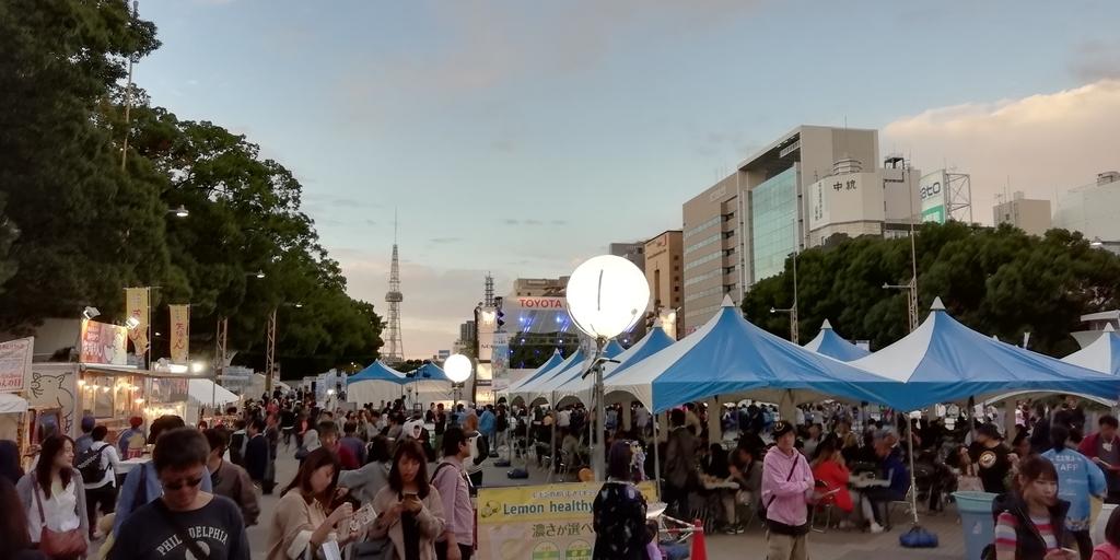 久屋大通公園 名古屋祭り