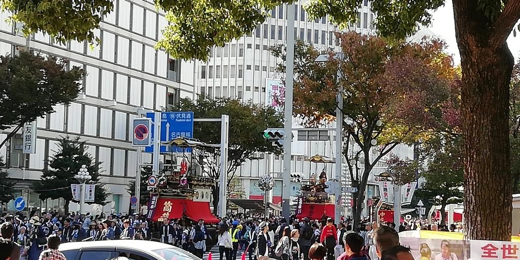 名古屋祭り 神輿