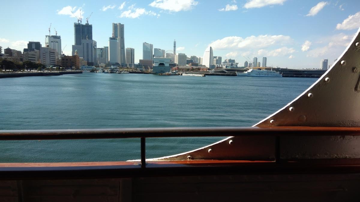 船から見える景色
