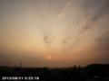 [日の出]2013/08/11