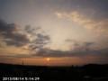 [日の出]2013/08/14