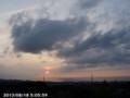 [日の出]2013/08/18