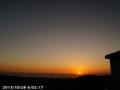 [日の出]2013/10/28