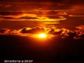[日の出]2014/02/16