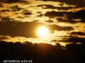 [日の出]2014/05/22