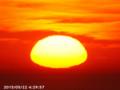 [日の出]2015/05/22