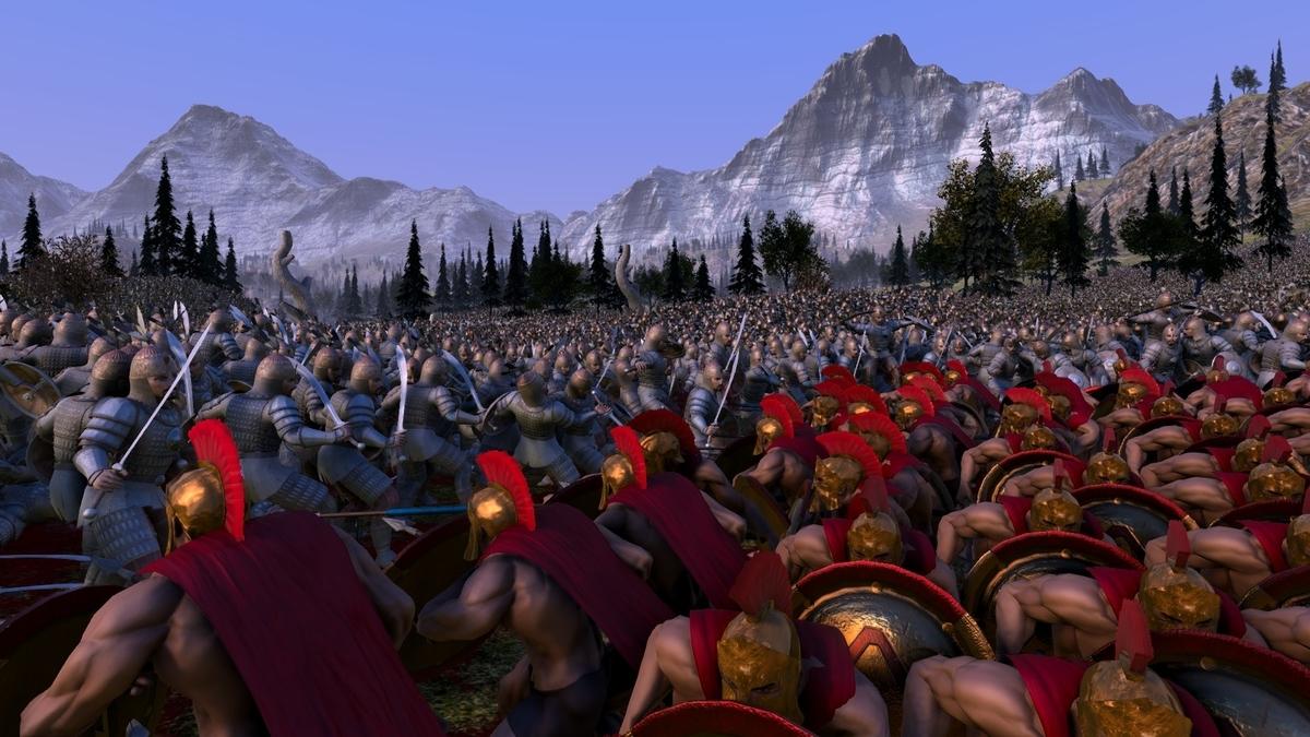 300人のスパルタ兵VS10万人のペルシャ兵1