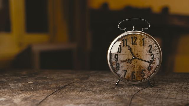 早寝早起きは三文の徳