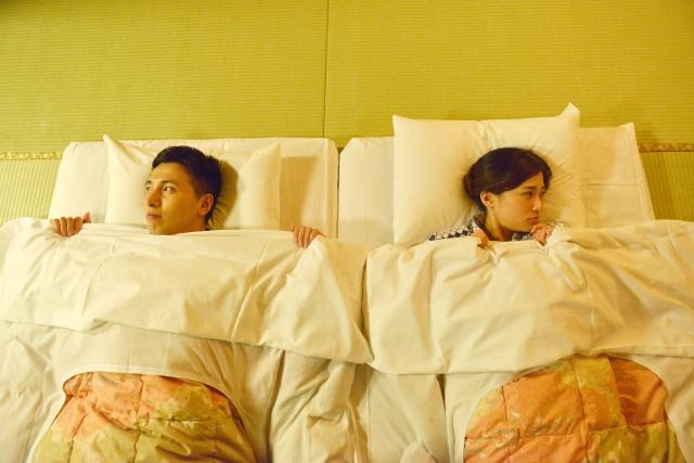 ④夫婦仲の疲れは枕カバーを変える