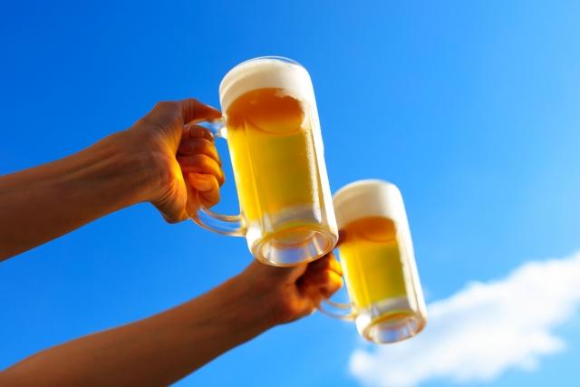 冷えたビールは体においしい?
