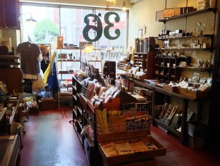 吉祥寺の文具店「サブロサブロ」の店内写真