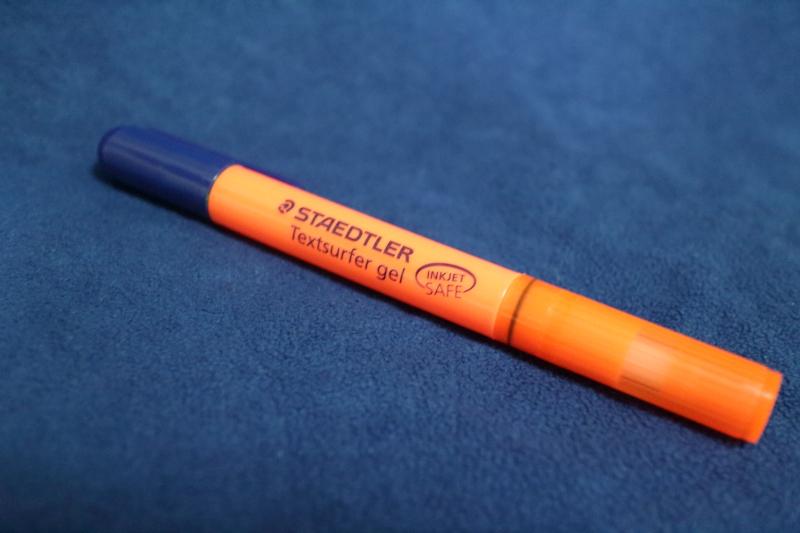 ステッドラー蛍光ペン