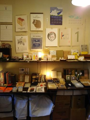 吉祥寺の文具店「サブロ」にある企画棚
