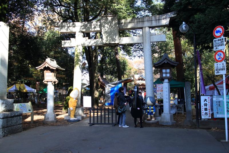 布多天神社の入り口