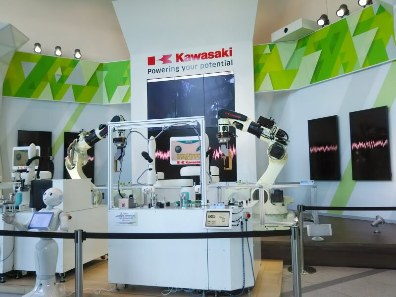 「KawasakiRobostage」内部