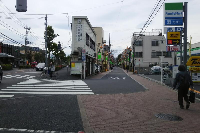 武蔵野市西久保