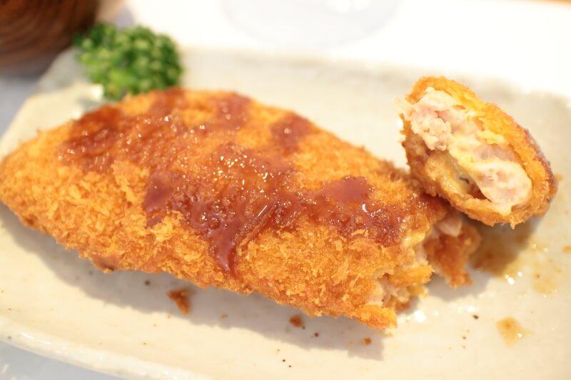鮭のマスタードフライ
