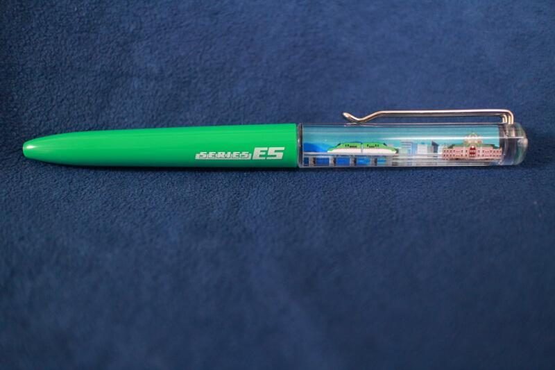 新幹線のフローティングアクションペン