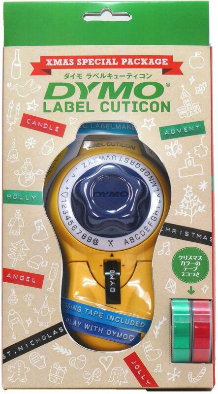 ダイモ テープライター キュティコン クリスマス限定パッケージ テープ2巻付