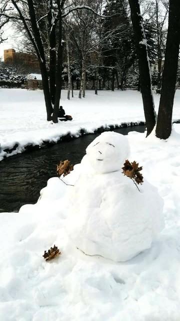 北大雪だるま
