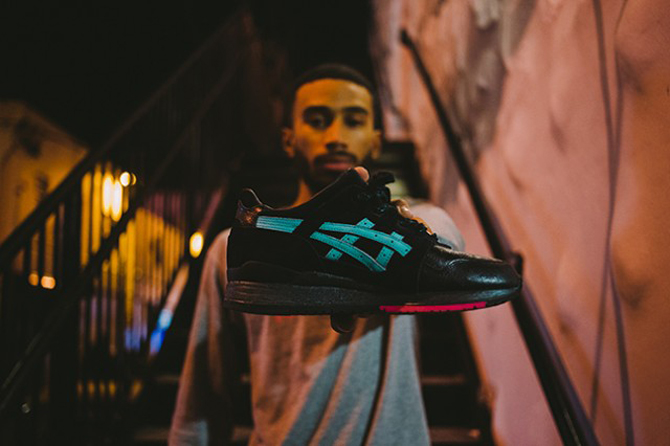 SOLEFLY x ASICS GEL LYTE 3 NIGHT HAVENS