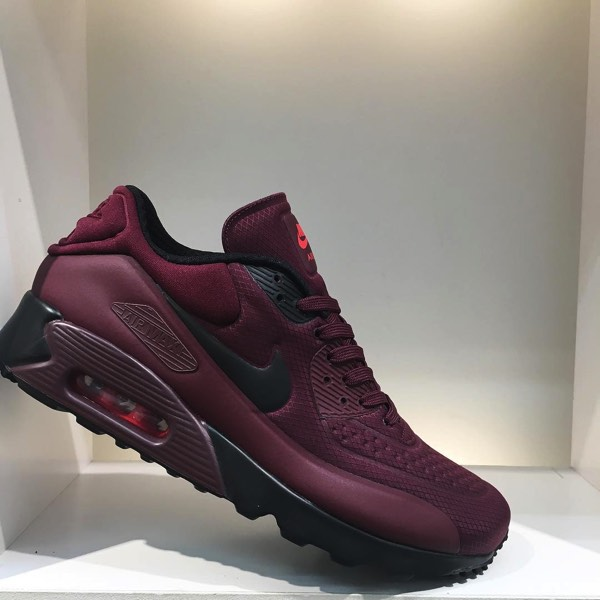 best sneakers b9696 c540d AIR MAX 90 ULTRA SE 'NIGHT MAROON'(845039-600) | PoLolife ...