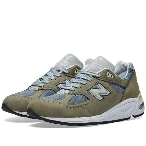 NEW BALANCE M990KBM2 'GREY/BLUE'