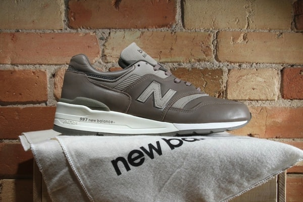NEW BALANCE 997 'BEIGE/GREY' HORWEEN LEATHERS