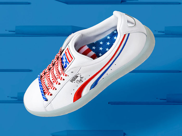 PUMA CLYDE '4TH OF JULY'