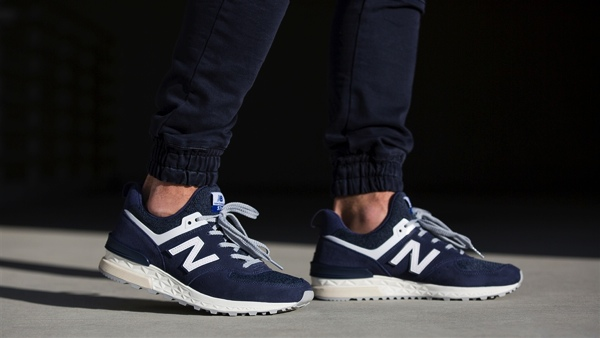 check out 5c063 08cc7 9月2日発売】NEW BALANCE 574 SPORT(NAVY & KHAKI) | PoLolife ...