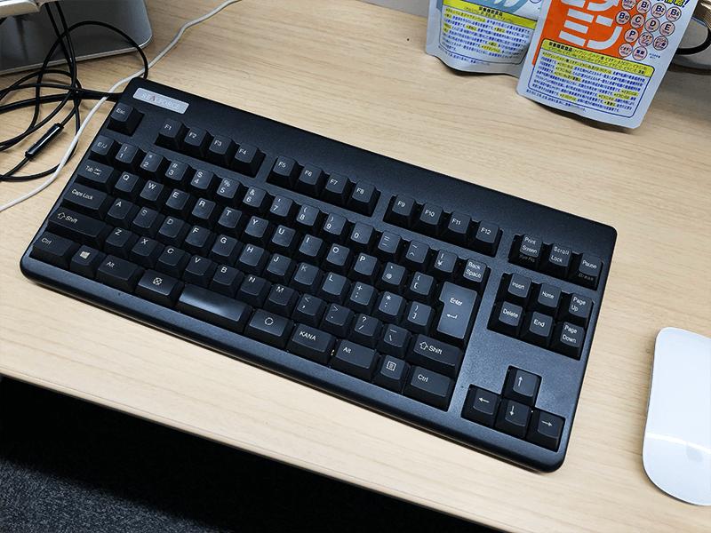 リアルフォースのキーボード