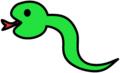 二代目のヘビ
