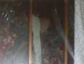 陽明門・平成の大修理で発見された、修理中しか見られない壁画。