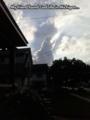 ミシガン州で撮影されたゴジラ雲がかっこいい。