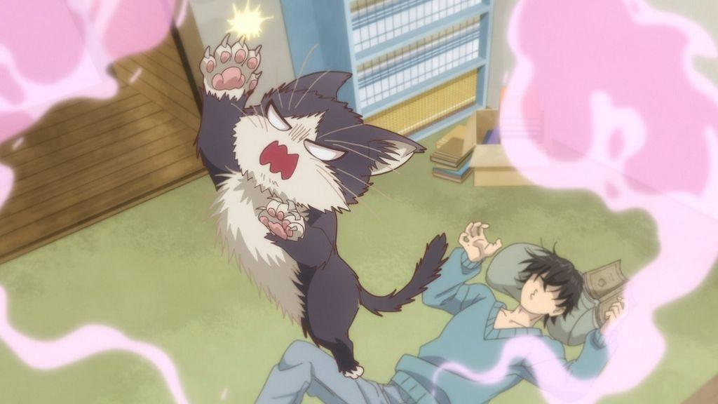 TVアニメ「同居人はひざ、時々、頭のうえ。」第3話