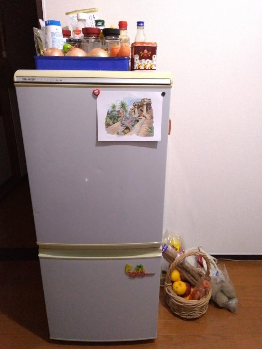 ミニマリスト 冷蔵庫