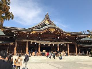 寒川神社写真