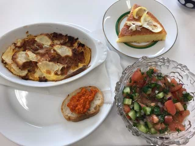 マケドニア料理完成