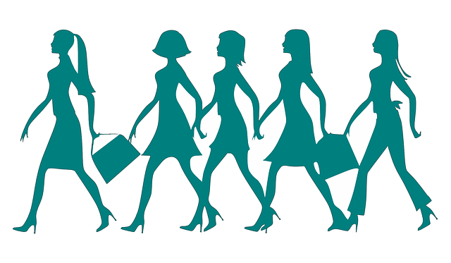 歩く女たち