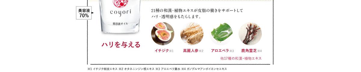 Coyoriトライアルセット美容オイル説明2