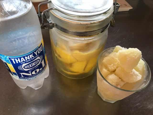 レモンサワー材料