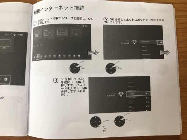 BenQ GS2モバイルプロジェクター説明書3枚目