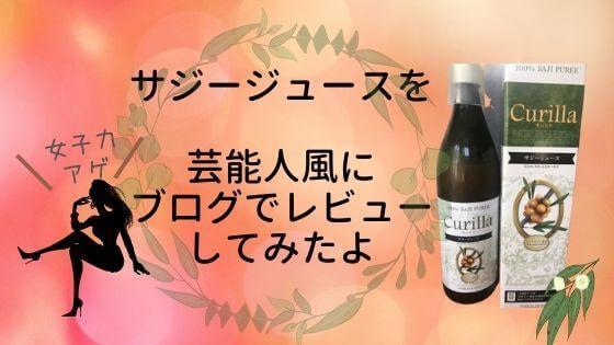 【キュリラ】サジージュースとは?鉄分豊富飲む美容で女子力UP!口コミレビュー