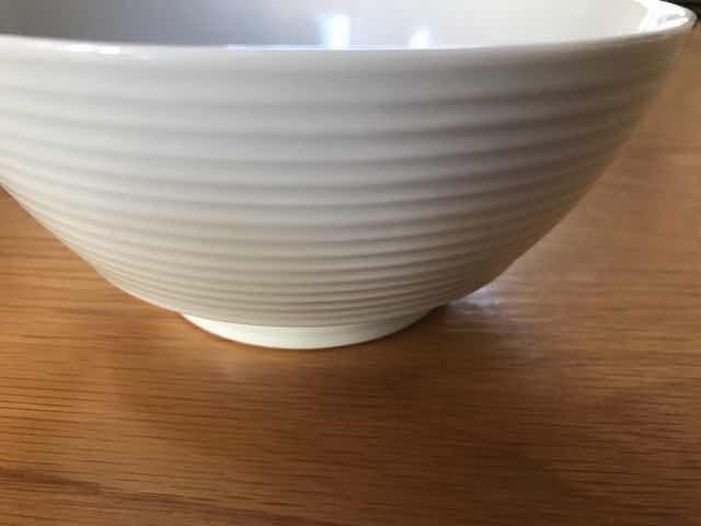 究極のラーメン鉢サイズ